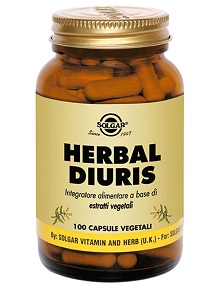 Solgar It. Multinutrient Herbal Diuris 100 Capsule Vegetali