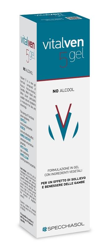 Specchiasol Vitalven5 Gel 100 Ml