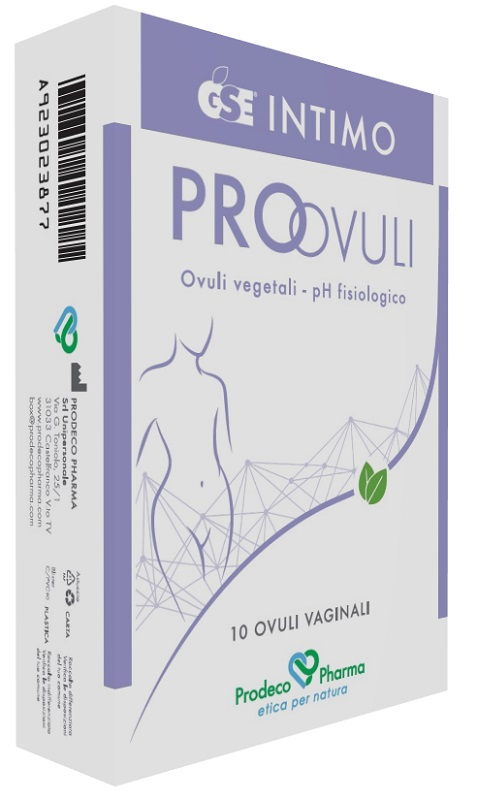 offerta Prodeco Pharma Gse Intimo Pro ovuli 10 Ovuli