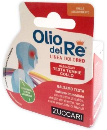 Zuccari Olio Del Re Dolored Balsamo Testa