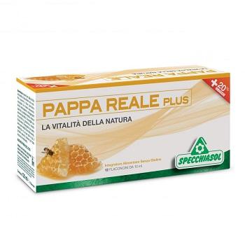 Specchiasol Pappa Reale Plus 12 Flaconcini X 10 Ml