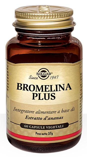 Solgar It. Multinutrient Bromelina Plus 60 Capsule