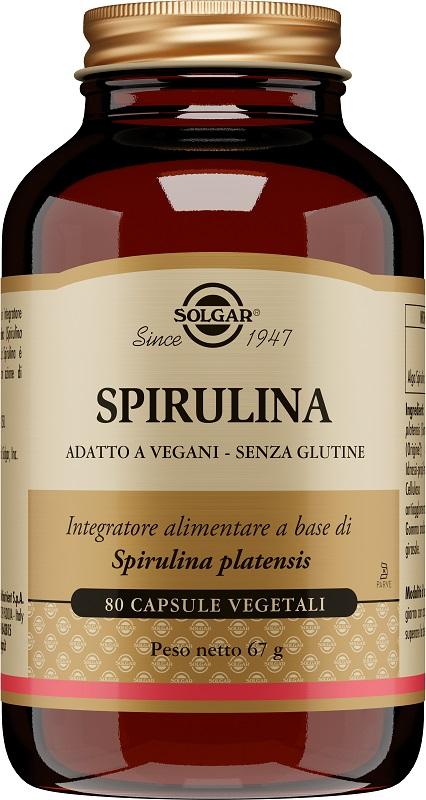 Solgar It. Multinutrient Spirulina 80 Capsule Veg