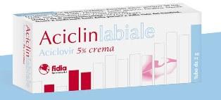 Aciclinlabiale 5% Crema Tubo Da 2 G
