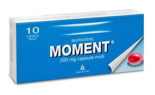 Moment 200 Mg Capsule Molli 10 Capsule