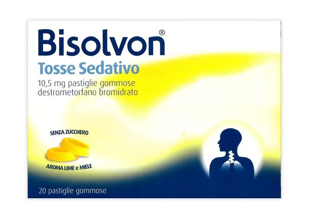 Bisolvon Tosse Sed 10,5 Mg Pastiglie Gommose 20 Pastiglie Gommose