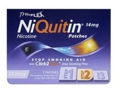 Niquitin 14 Mg/24 H Cerotti Transdermici 7 Cerotti In Bustine