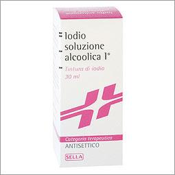 Iodio Sol Alco I 7%/5% Soluzione Cutanea Alcoolica 1 Flacone 30 Ml