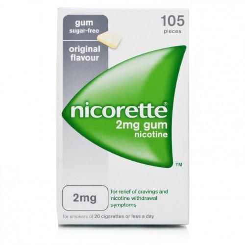 Nicorette 2 Mg Gomme Da Masticare Medicate 105 Gomme