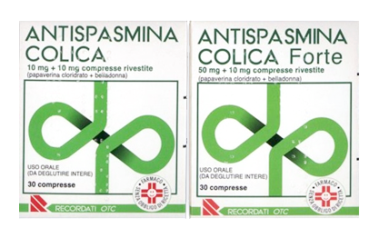 Antispasmina Colica 10 Mg + 10 Mg Compresse Rivestite 30 Compresse