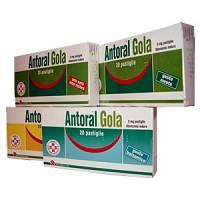 Antoral Gola Gola 5 Mg 20 Pastiglie Senza Zucchero