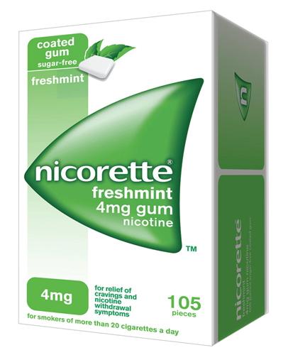 Nicorette 4 Mg Gomme Da Masticare Medicate Gusto Menta Forte 105 Gomme