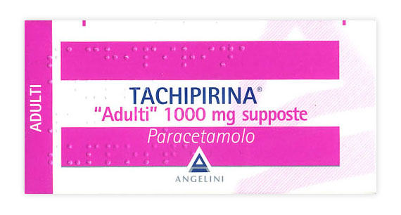 Tachipirina Adulti 1.000 Mg Supposte 10 Supposte