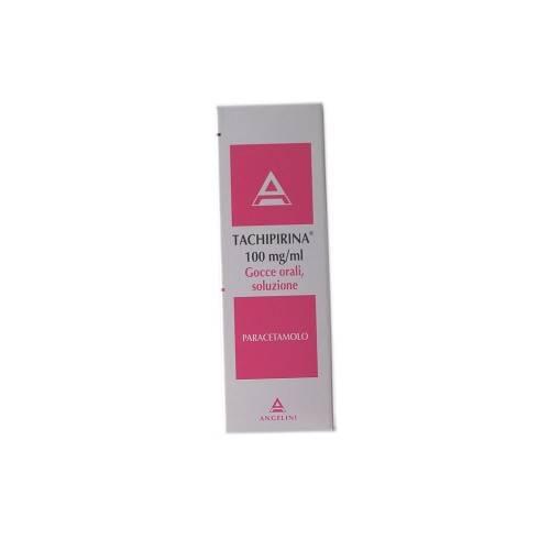 Tachipirina 100 Mg/Ml Gocce Orali, Soluzione Flacone 30 Ml