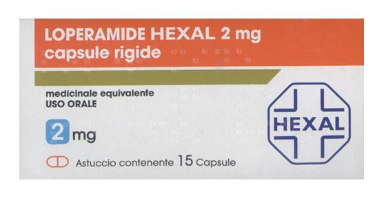 Loperamide Hexal 2 Mg Capsule Rigide 15 Capsule