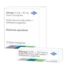 Altergen 2 Mg + 40 Mg Garze Impregnate 15 Garze