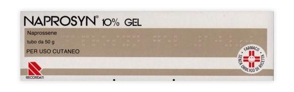 Naprosyn 10% Gel Tubo 50 G