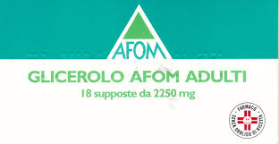 Glicerolo Afom Adulti 2,250 G Supposte 18 Supposte