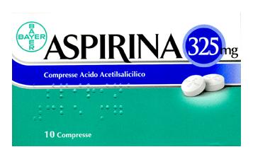 Aspirina 325 Mg 10 Compresse