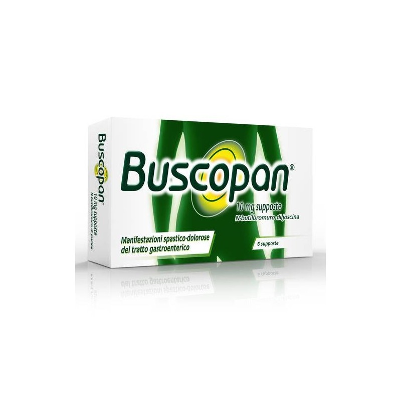 Buscopan 10 Mg Supposte 6 Supposte