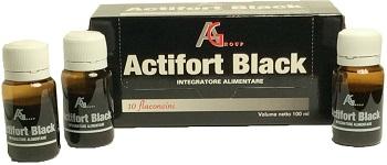 Actifort Group Actifort Black 10 Flaconcini 10 Ml