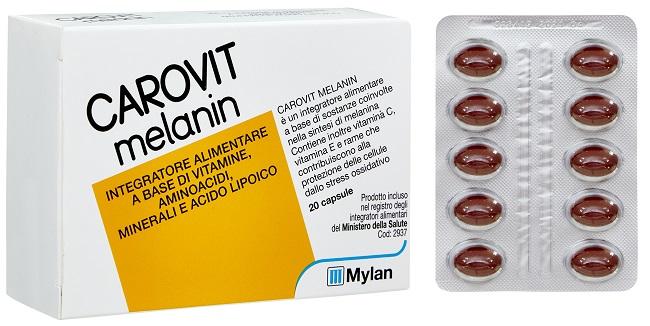offerta Meda Pharma Carovit Melanin Senza Betacarotene 20 Perle