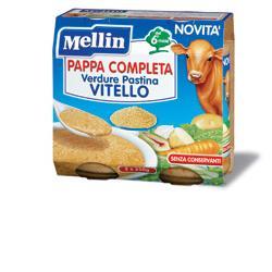 offerta Mellin Pappa Completa Vitello 250 G 2 Pezzi