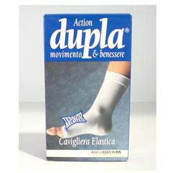 Welcome Pharma Cavigliera Elastica Dupla Bianca M