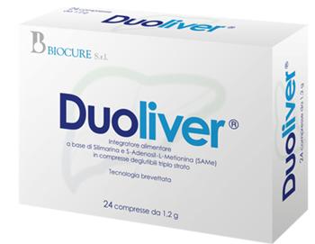 Biocure Duoliver 24 Compresse