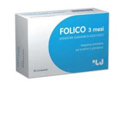 Lj Pharma Folico 3 Mesi 90 Compresse