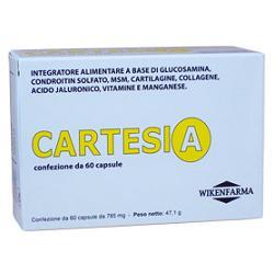 offerta Wikenfarma Cartesia 60 Capsule Blister 47 1 G