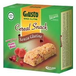 offerta Giuliani Giusto Cereal Snack Frutti Rossi 150 G