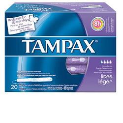 offerta Fater Tampax Blue Box Lites 20 Pezzi