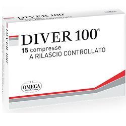 Omega Pharma Diver 100 15 Compresse
