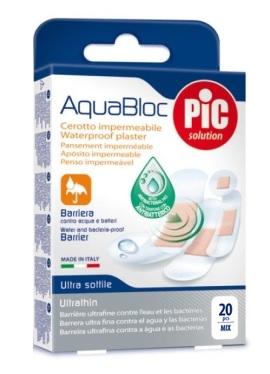 Pikdare Cerotto Pic Aquabloc Mix Antibatterico 20 Pezzi
