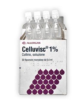 Celluvisc 10 Mg Ml Collirio  Soluzione 30 Flaconcini Monodose Da 0 4 Ml