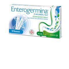 Enterogermina 2 Miliardi 5 Ml  Sospensione Orale 10 Flaconcini 5 Ml