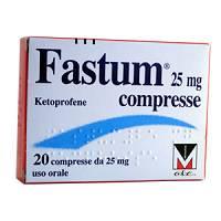 Fastum 25 Mg Compresse 20 Compresse