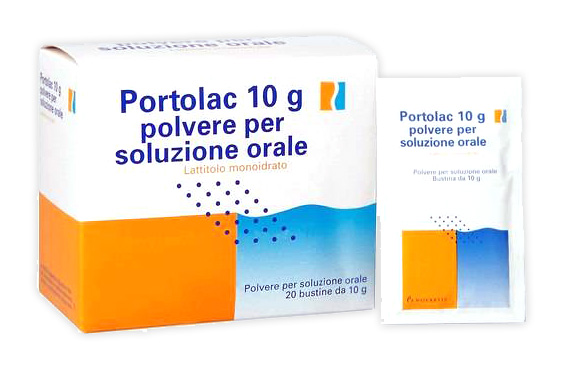 Portolac 10 G Polvere Per Soluzione Orale 20 Bustine