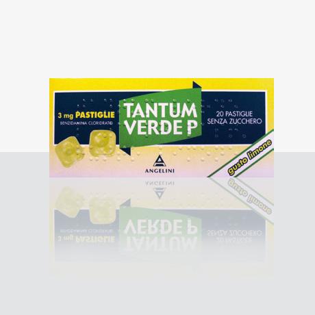 Tantum Verde P 3 Mg Pastiglie Gusto Limone 20 Pastiglie