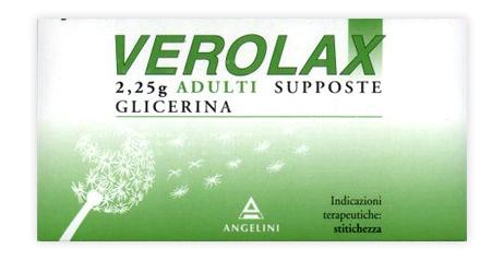 Verolax 2 25 G Adulti Supposte 18 Supposte