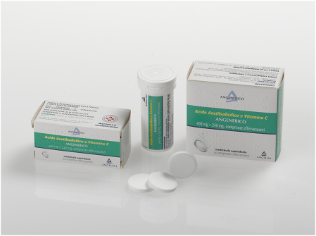Acido Acetils Vit C Ang 400 Mg   240 Mg Compresse Effervescenti 20 Compresse