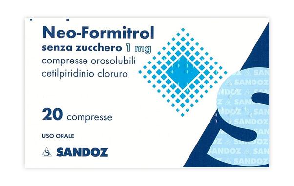 Neoformitrol 1 Mg Compresse Orosolubili 20 Compresse Senza Zucchero