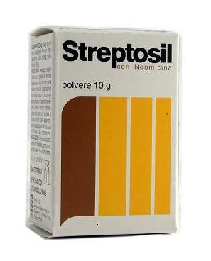 Streptosil Neomicina 99 5%   0 5% Polvere Cutanea 10 G In Flacone Pe