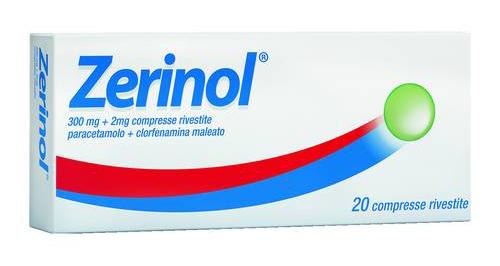 Zerinol 300 Mg   2 Mg Compresse Rivestite 20 Compresse