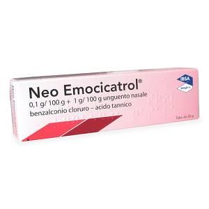 Neoemocicatrol 1 Mg G   20 Mg G G Unguento Nasale Tubo 20 G