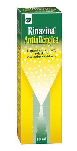 Rinazina Antial 1 Mg Ml Spray Nasale  Soluzione Flacone Con Nebulizzatore Da 10 Ml