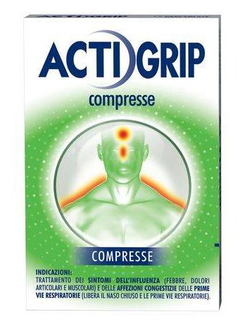 Actigrip Compresse 12 Compresse
