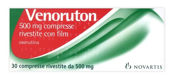 Venoruton 500 Mg Compresse Rivestite Con Film 30 Compresse