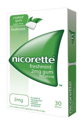 Nicorette 2 Mg Gomme Da Masticare Medicate 30 Gomme